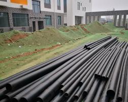 青岛市政工程 —— 室外地埋消防管道